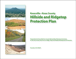 Hillside and Ridgetop Protection Plan cover